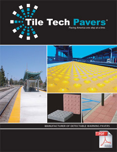 Detectable Warning Pavers Catalog